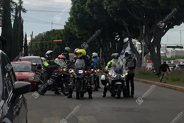 Motociclistas dan último adiós a empresario asesinado en Anzures