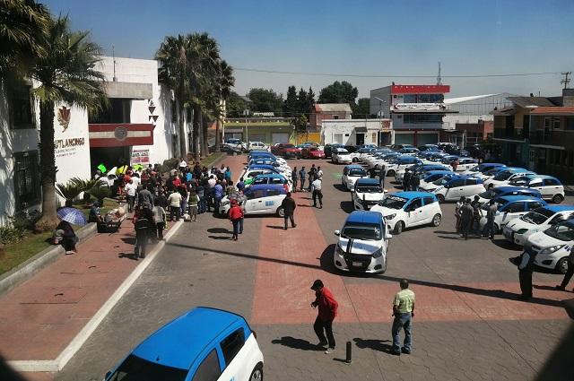 Regresa problemática de mototaxis a Cuautlancingo