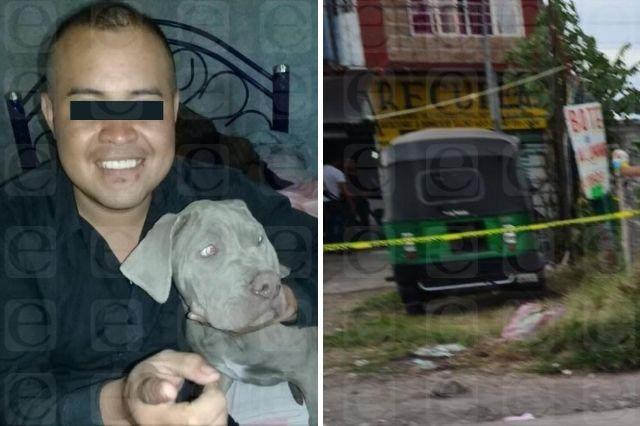 Matan a balazos a mototaxista en Atencingo