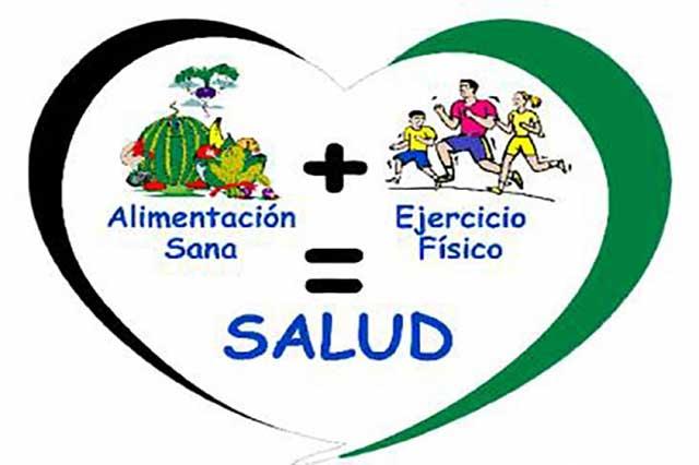 Alimentación sana y ejercicio, claves para una buena salud