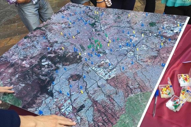 Ubican prácticas de movilidad ciudadana en Puebla capital