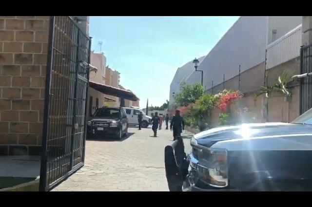 Provoca alerta movilización policíaca en Atlixco