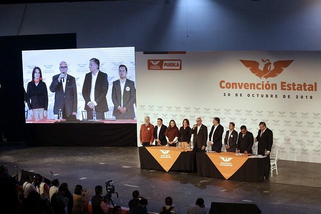 Puebla, el segundo estado donde más alcaldías ganó MC: Delgado