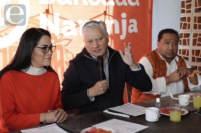 Seguirá Fernando Morales al frente de Movimiento Ciudadano