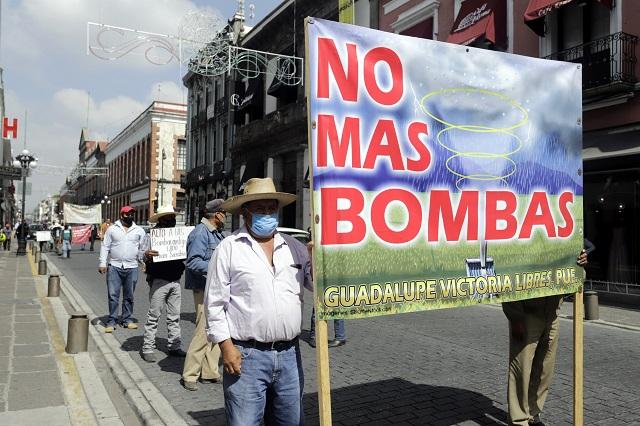 Prohíbe el Congreso uso de cañones antigranizo en Puebla