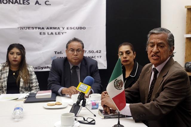 Reclaman abogados poblanos más Ministerios Públicos