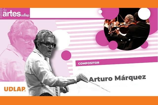 Presentó UDLAP en Cátedra de Artes al músico Arturo Márquez