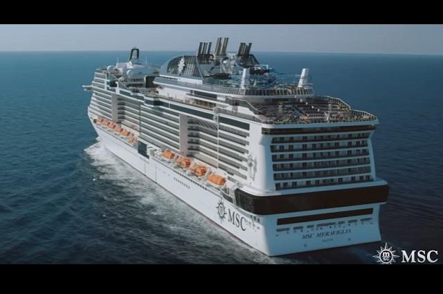Tras descartar coronavirus, autorizan desembarco de crucero Meraviglia