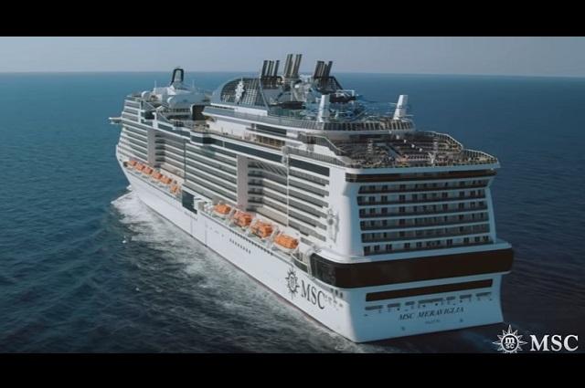 Tras descartar coronavirus, desembarcan pasajeros de crucero Meraviglia