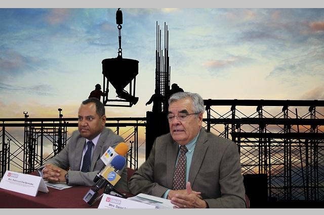 La construcción aporta 6.5% del PIB nacional: Upaep