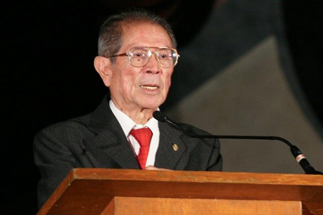 Muere a los 93 años de edad Jesús Kumate, ex secretario de Salud