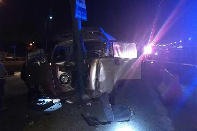 Joven chofer muere tras chocar frente al Outlet de la autopista