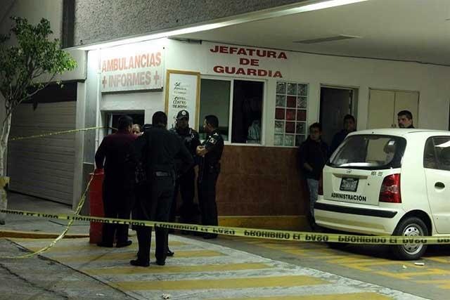 Matan a policía que frustró rescate de un sujeto en la Cruz Roja de Tlalnepantla