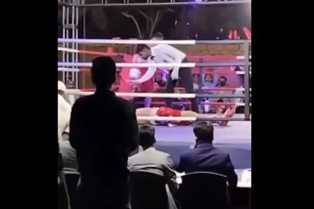Muere boxeador pakistaní en una pelea de corte benéfico
