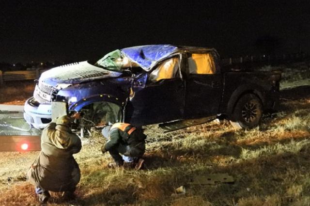 Muere tras destrozar su camioneta en el Periférico Ecológico