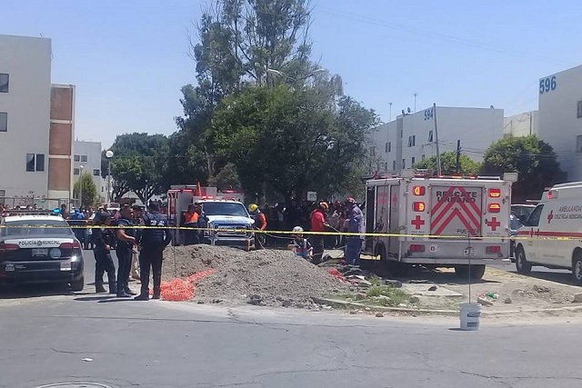Muere motociclista en obra de Agua de Puebla