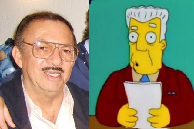 Muere Gonzalo Curiel, la voz de Kent Brockman en Los Simpson