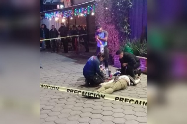 Extranjero muere baleado en Cholula; otro fue apuñalado