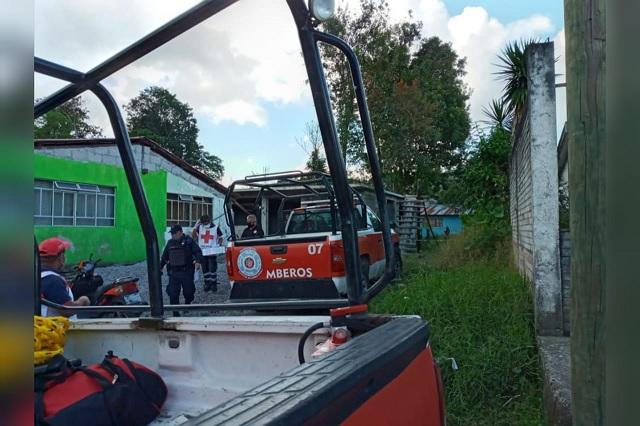 Mujer de 27 años muere al interior de su casa en Xicotepec