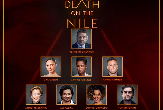 Muerte en el Nilo, película basada en libro de Agatha Christie