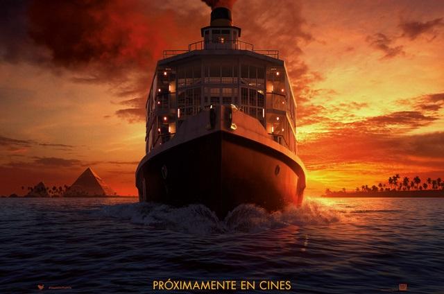 Estrenan primer tráiler de la película Muerte en el Nilo