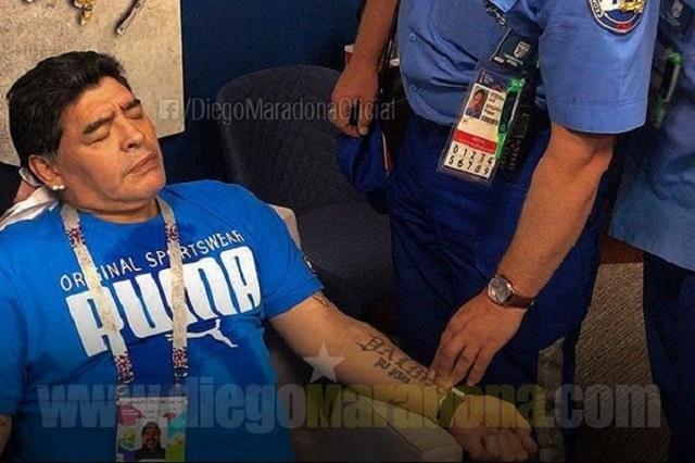 Falsa muerte de Maradona hace estallar a su hija y calla rumores