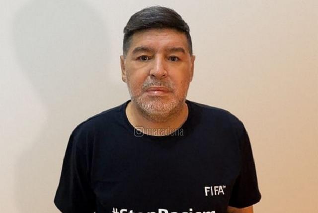 Foto Instagram Maradona