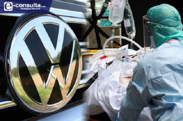 Persiguen muertes y contagios de Covid a VW en Puebla