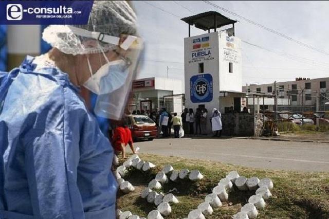 En 15 días crecen 20% casos de Covid en los Ceresos de Puebla