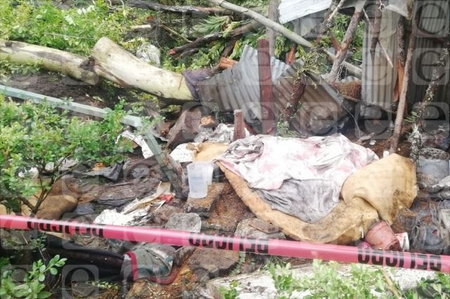 Huracán Grace cobra la primera vida en Huauchinango