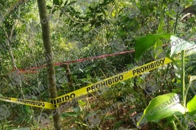 Asesinan a hombre a machetazos en la comunidad de Ocomantla