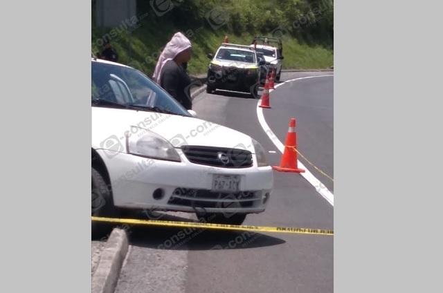 Muere conductor por impactos de bala en la México-Tuxpan