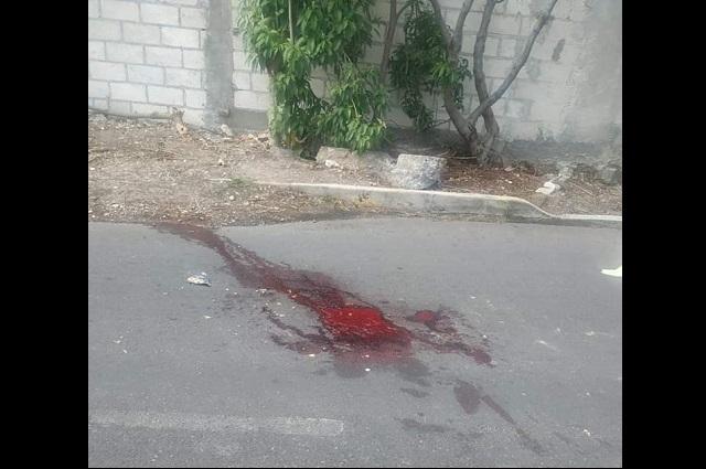 Con dos disparos asesinan a hombre en La Magdalena Axocopan