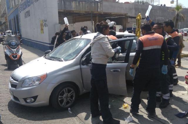 Muere el hombre baleado en pleno Centro de Puebla