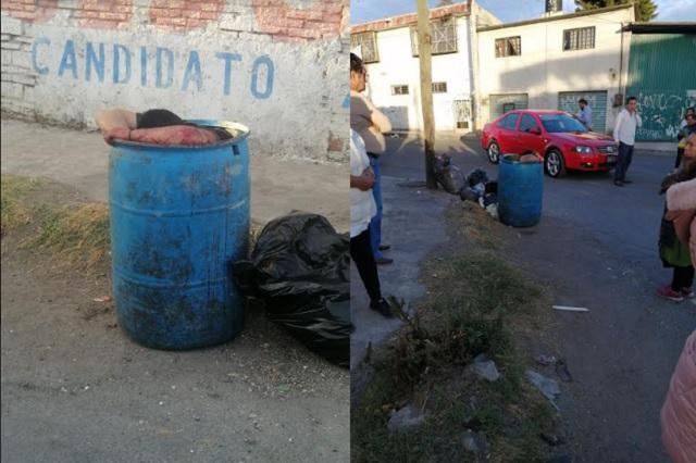 Lo torturan y lo dejan morir en un tambo en La Loma