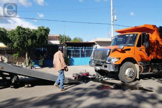 Joven muere atropellado por camión de carga en Izúcar