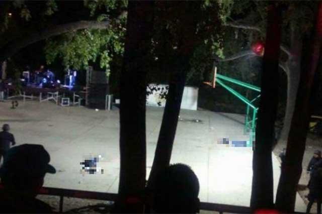 Matan a dos personas durante baile grupero en Tamaulipas