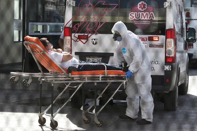 Retiene Puebla capital primer sitio en muertes por Covid del país