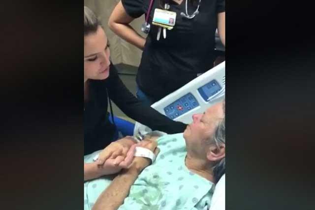 Video viral: Chica cumple el último deseo de mujer con cáncer terminal