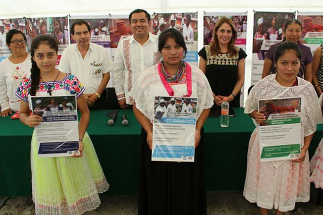 FGE conmemoró el Día Internacional de la Mujer Indígena en Huehuetla