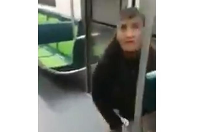 Graban en el Metro a una mujer que intenta robar a un hombre dormido