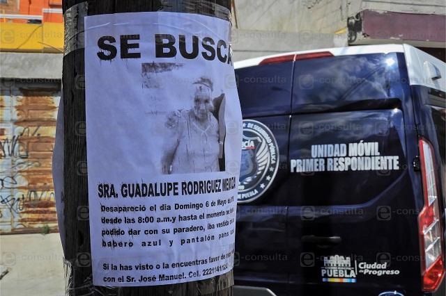 Hallan embolsada a mujer reportada como desaparecida en Puebla