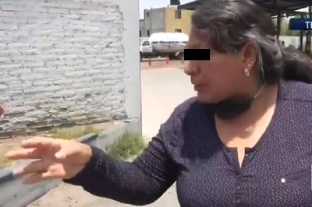 'Es una gripa, se quita con un té', asegura mujer a personal médico