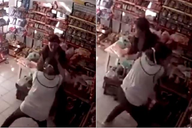Mujer increpa a ladrón y logra frustrar asalto en Celaya