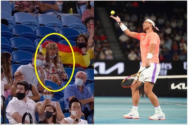 Abierto de Australia: señora molesta y ofende a Rafael Nadal en pleno partido