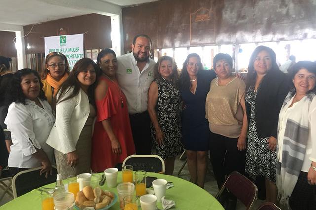 Las mujeres son lo más importante en mi campaña, dice Rodrigo López Portillo