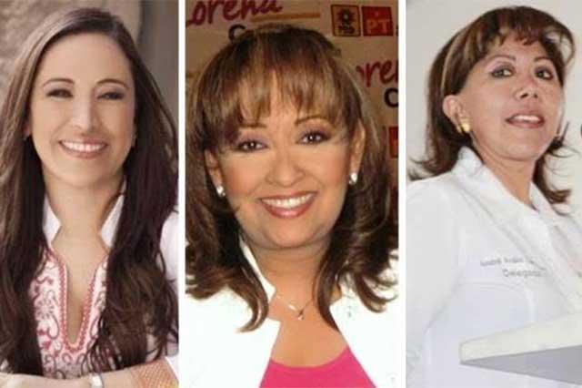 Tres mujeres se perfilan para competir por la gubernatura de Tlaxcala