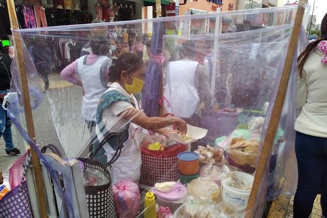 Coapeñas infringen amparo que les permite vender únicamente tortillas