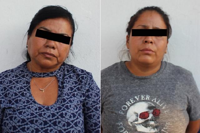 Detienen a dos mujeres por robar celular a pasajero de la ruta  20