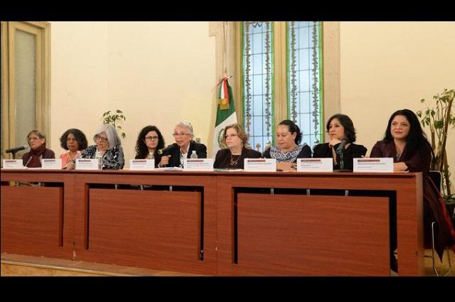 Mujeres no están enojadas con gobierno de AMLO, dice Sánchez Cordero